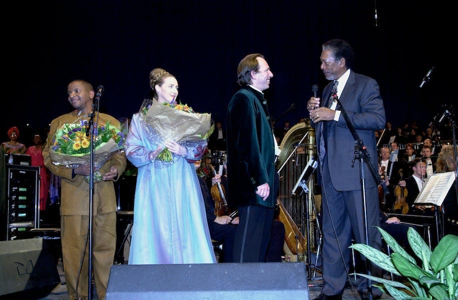 Morgan Freeman & Hans Zimmer - FFG2000